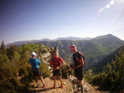 Stage trail expertrail préparation verdon canyon xtrem reconnaissance parcours thomas pigois