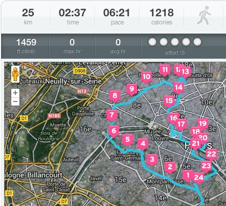 Petite visite des monuments de Paris en 2h30...