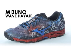 mizuno hayate trail ultra running test