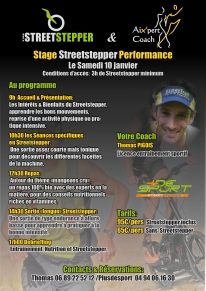 stage streetstepper performance Thomas PIGOIS Expertrail entraînement coaching progresser trail course à pied