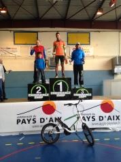 podium sénior Trail Mont olympe 2015