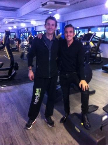 Thomas Pigois & Thomas Bettini Gérant Fitness Park Aubagne