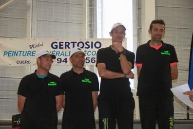 Team Expertrail podium