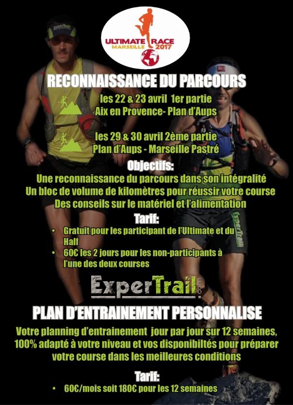 reconnaissance ultimate race trail